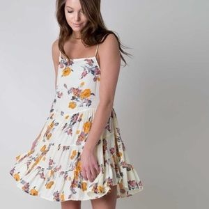 Free People Floral Slip Dress Size S